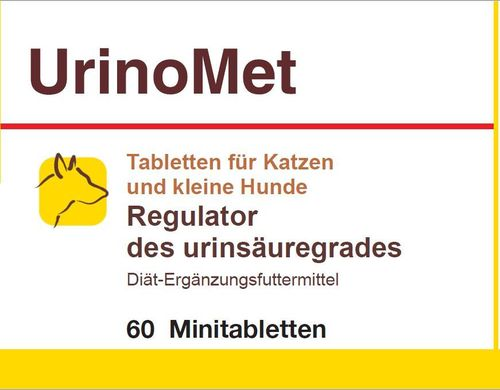 UrinaryMet - Säureregulator des Urins bei Hunden, L-Methionin 500mg